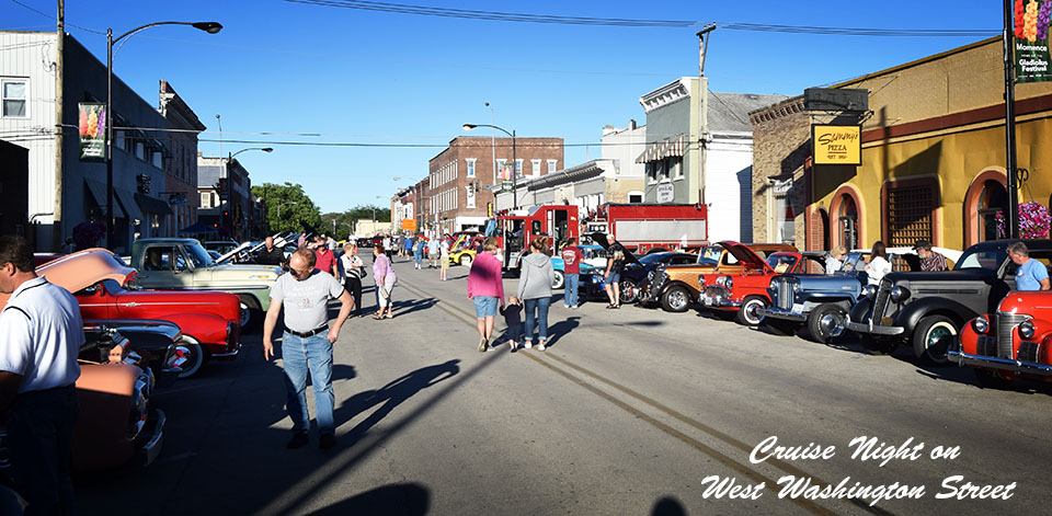 Cruise Night street scene